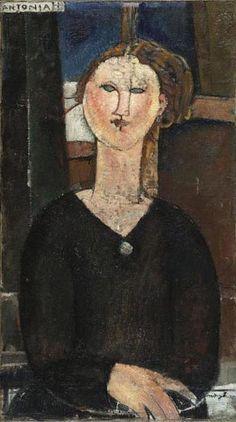 Antonia Amedeo MODIGLIANI (1884 – 1920)