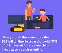"""#FridayFact """"Every month there are more than 10.3 billion #Google #searches, with 78% of U.S. #Internet #users researching #products and #services online. """" #EmailMarketing #DigitalMarketing #blogging #SEO  www.onlinereputationindia.com  #OnlineBusiness #ReputationManagement #Google Reputation Management, Management Company, Email Marketing, Digital Marketing, Friday Facts, Seo Tips, Seo Services, Digital Media, Brand You"""