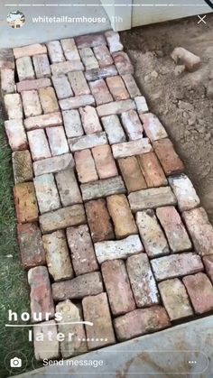 Garden Structures, Garden Paths, Back Gardens, Outdoor Gardens, Narrow Garden, Outdoor Walkway, Brick Path, Dream Garden, Cabana