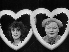 """mabel normand and roscoe """"fatty"""" arbuckle"""
