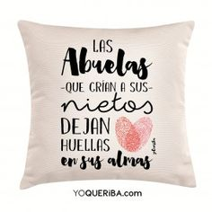 "Cojín ""Las abuelas que crían a sus nietos..."" Taylor Swift Guitar, Homemade Fathers Day Gifts, Mom And Grandma, Year Quotes, Gifts For Friends, Special Day, Baby Shower, Scrapbook, Throw Pillows"