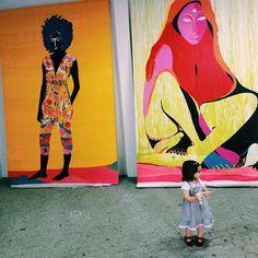 """Obras gigantes e inéditas em Curitiba  expostas na """"Limited Edition"""" na rua: Machado de Assis 470  Juvevê ! Durante semana com horário marcado e fim de semana aberto ! #curitiba #canvas #paint #pintura #arte #art #artwork #artnow #limitededition #rim #rimon #rimonguimarães by rimonguimaraes"""