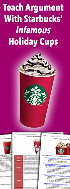 It's that time of year again -- Red Cup Rhetoric! Middle and High School English teachers, rejoice!