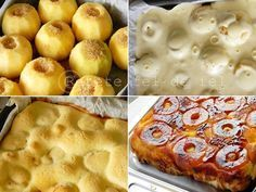 Prajitura cu mere intregi este desertul care mi-a indulcit si bucurat copilaria.Cu siguranta o s-o prepar ori de cate ori mi se face pofta de ea si de amintiri minunate. Este delicioasa,usor si si… Romanian Desserts, Romanian Food, Banana Brownies, Apple Desserts, Peanut Butter Banana, Cookie Recipes, Cheesecakes, Sweet Treats, Food And Drink