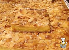 Pantxineta: receta fácil de postre vasco - Vuelta y Vuelta Delicious Deserts, Yummy Food, Cooking Cake, Almond Cakes, Sweet Tarts, Light Recipes, Creative Food, Chocolate, Baked Goods