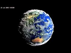 En este increíble video de la NASA la Tierra parece una criatura viviente