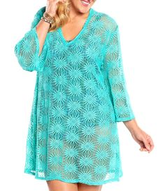 10 Swim Coverups That Will Flatter Every Curvy Girl On The Beach featuring Always For Me! http://www.alwaysforme.com/plus-size-cover-ups/always-for-me-sunburst-crochet-plus-size-tunic-16087sl?CJPID=7850144&URL=http%3A%2F%2Fwww.alwaysforme.com%2Fplus-size-cover-ups%2Falways-for-me-sunburst-crochet-plus-size-tunic-16087sl&Ref=CJ