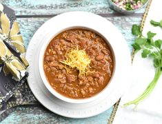 Easy Instant Pot Chili- spicy, tasty, quick 'n' easy, and healthier recipe for Chili.