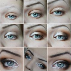 Easy makeup natural smokey eyes makeup inspiration for trichsters #trichotillomania  Fellow trichster