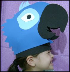 Rio movie hat. Very Cool but i didn't find a tutorial for that. Just the picture!