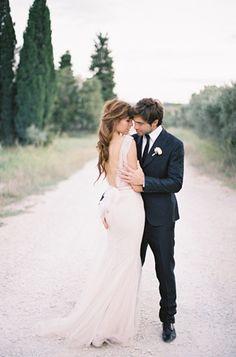 Italian Inspired Organic Wedding Ideas via oncewed.com