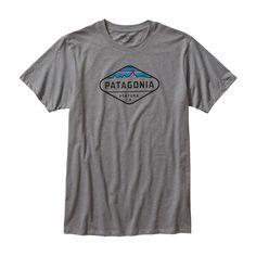 Men's Fitz Roy Crest Organic Cotton/Poly T-Shirt