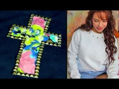 DIY: 2 Cheap Winter Sweatshirt Designs! - YouTube