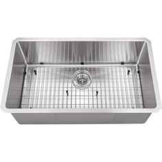 Superior Sinks�16-Gauge Single-Basin Undermount Stainless Steel Kitchen Sink 32x19x10    $370