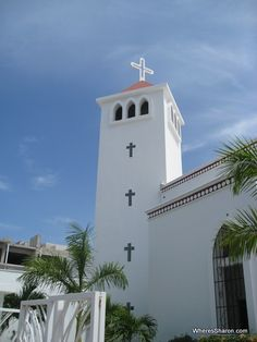 Church  Another day in paradise in Playa del Carmen