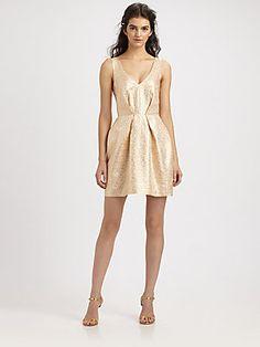 Zimmermann Dazed Brocade Dress