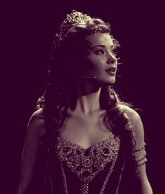 Sierra Boggess as Christine in the 25TH Anniversary Concert of 'The Phantom Of The Opera'.