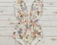 Beautiful Swimsuit  Vintage Style High Waisted Pin-up by Bikiniboo