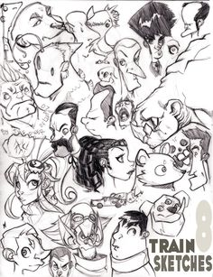 Train Sketches 8: The Page by Zatransis on deviantART