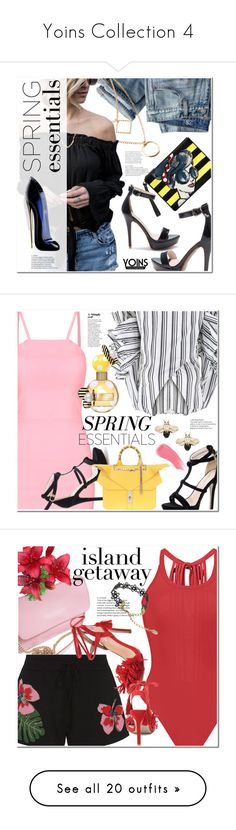 """""""Yoins Collection 4"""" by ansev ❤ liked on Polyvore featuring yoins, yoinscollection, loveyoins, J.Crew, Alice + Olivia, Caroline Constas, Marc Jacobs, Hourglass Cosmetics, Valentino and G1"""
