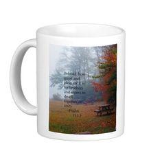"""Unity"" Psalm 133:1 Coffee Mug"