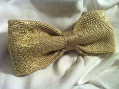 PAPILLON Ocra Bow Tie Men Farfallino Uomo Regolabile di Idillyum