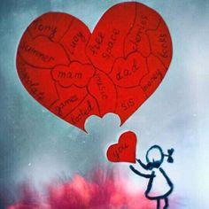 let me in by Orwald on DeviantArt Heart Art, Love Heart, Let Me In, Let It Be, Sundae Kids, Dyi Decorations, Shattered Heart, Smile Wallpaper, Cute Couple Art
