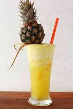 [Pineapple Ginger with Rum] + Click For Recipe!  #easy #recipes #asian #malaysian