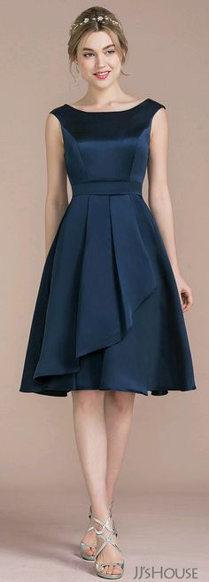 New Dress Outfit Heels Skirts 59 Ideas Trendy Dresses, Elegant Dresses, Cute Dresses, Beautiful Dresses, Short Dresses, Simple Dresses, Casual Dresses, Satin Bridesmaid Dresses, Prom Dresses
