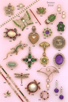 'downton abbey jewelry collection' - Google Search
