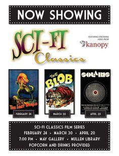 SciFi Classics Film Series (Spring 2016)