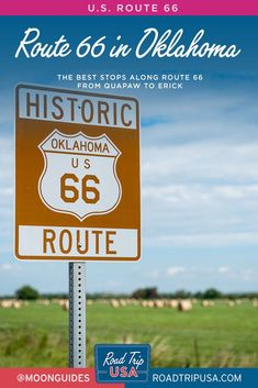 Plan your route 66 road trip through Oklahoma. This trip planner guides you to the best sights and pit stops moving west from Quapaw to Erick, with handy travel maps to get you oriented. Route 66 Oklahoma, Oklahoma Attractions, Trip Planner, Travel Planner, Travel Maps, Travel Destinations, Route 66 Road Trip, Grapes Of Wrath, College Football Teams
