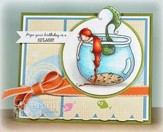 Little Fish (by Broni Holcombe)  #ADFD, #ADayForDaisies