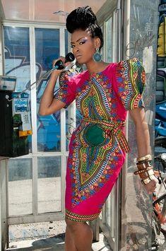 DAHSIKI OR DANSHIKI   Ghana Ladies