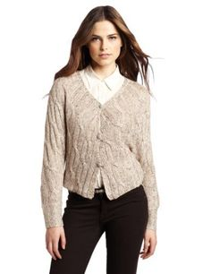 Sanctuary Clothing Women's Sequin Shrug Sanctuary. $42.77. A sprinkling of sequins gives this cropped cable-knit sweater a subtle touch of shimmer. Dolman sleeves. Rib-knit trim at cuffs and hem. Front button closure.. 48% Polyester/24% Wool/14% Acrylic/14% Nylon. Hand Wash. Made in China