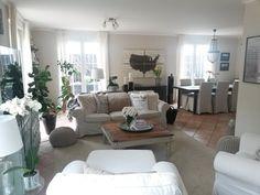 Living Room, Recycled Furniture, Trash to Treasure, Ikea Hacks, DYI, USA Pallet Art, Pottery Barn Knock Off