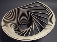 """Sculpture by John Edmark Edmark on his work: """"If change is the only constant in nature, it is written in the language of geometry. """" """"Much of my work celebrates the patterns underlying space and. Detail Architecture, Parametric Architecture, Parametric Design, Interior Architecture, Architecture Portfolio, Architecture Diagrams, Drawing Architecture, Parametrisches Design, 3d Modelle"""