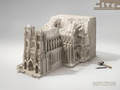 """Cité de l'Architecture """"sculptures"""" on Behance"""