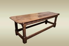 17th century table, Marhamchurch antiques
