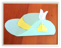 The Learning Curve: Slouch Hat Craft for Anzac Day - Lest We Forget Diy For Kids, Crafts For Kids, Arts And Crafts, Lest We Forget Anzac, Australia For Kids, Remembrance Day Activities, Hat Day, Hat Crafts, Anzac Day