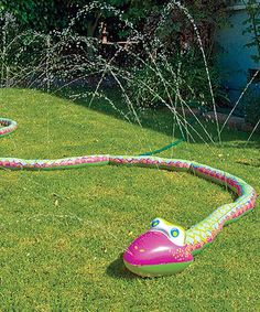 Take a look at this Wigglin Water Snake Sprinkler today!