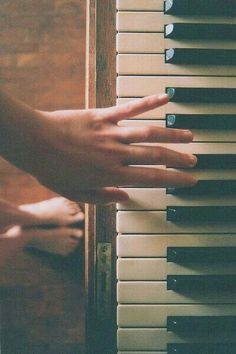 You've got the music in you.