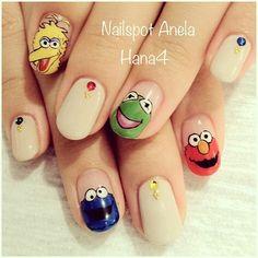 good nite,everyone #nail #nails #nailart #nailarts #nailswag...