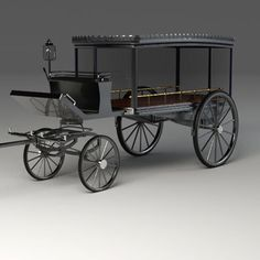 3Ds Hearse - 3D Model