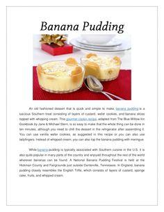 banana-pudding-17933005 by Arya McLean via Slideshare