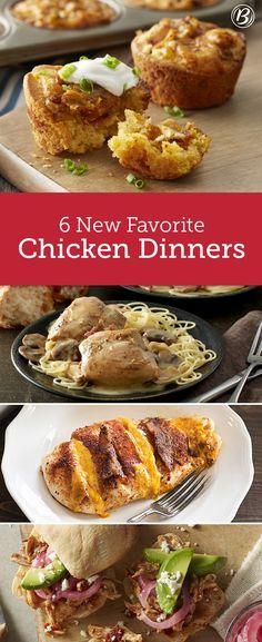 New chicken recipes ideas
