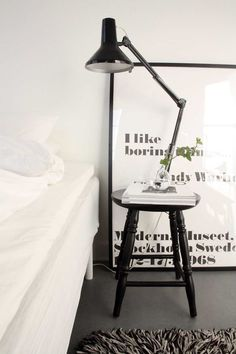 Finally a Scandi bedroom that is pin-worthy... It was starting to get boring.