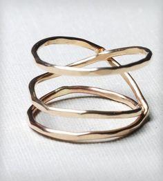 Auriferous Nest Ring by Gunnard Jewelry $48.00