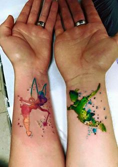 This one is definitely a favorite! Tinkerbell is an idol of mine <3 tatuajes | Spanish tatuajes |tatuajes para mujeres | tatuajes para hombres | diseños de tatuajes http://amzn.to/28PQlav