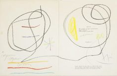Joan Mirò - Casa d'Aste Blindarte. Drawing. Disegno. Pastello. Carta. Arte. Artista. Bid. Auction. Asta.